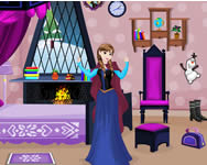 Frozen Anna room decor spiele online