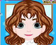 Frozen Baby Anna haircut injury Die Eisk�nigin online spiele