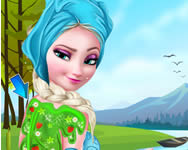 Frozen Elsa ice bucket makeover gratis spiele